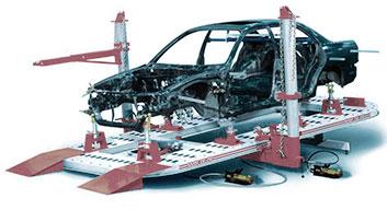 Resultado de imagen de car lift body repairs